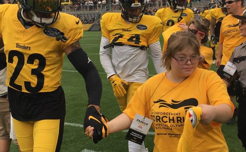 Joe Haden & Steelers donate toSOPA